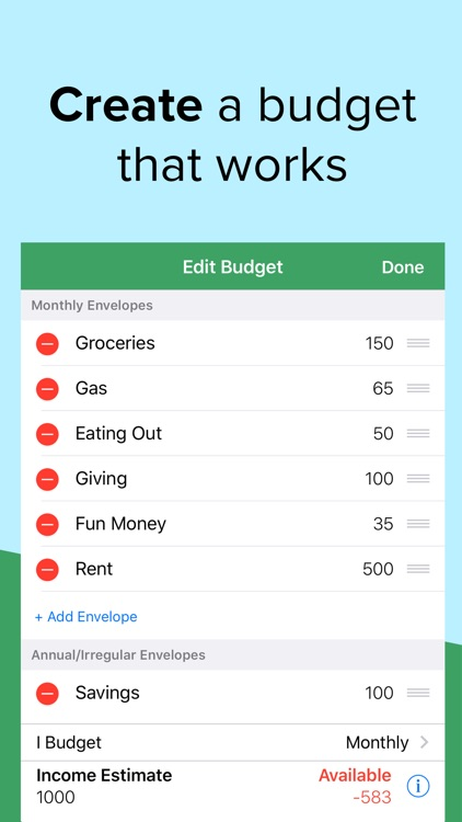 Goodbudget Budget Planner screenshot-3