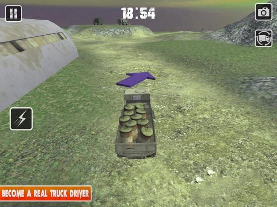Truck Driver:OffRoad Cargo Sim screenshot #2