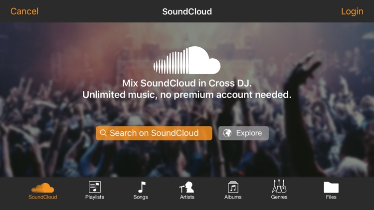Cross DJ Pro screenshot-2