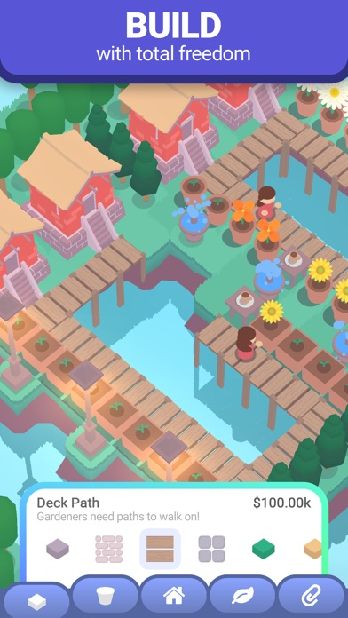 Sprout: Idle Garden screenshot 1