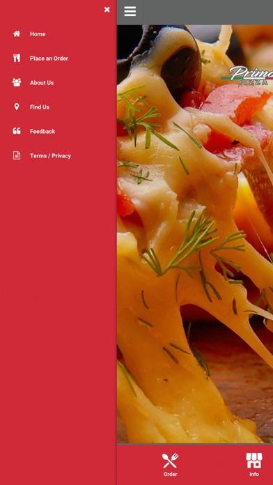 Primo Pizza Kenton screenshot two