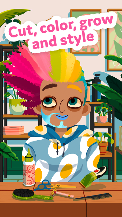 Toca Hair Salon 4 screenshot 1