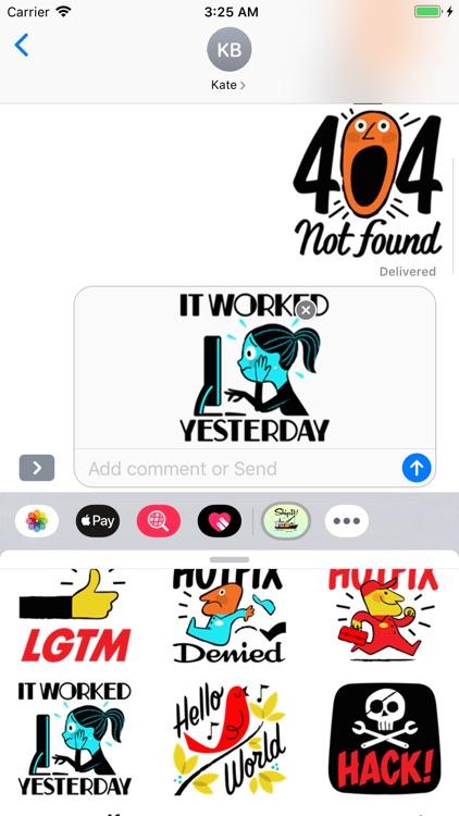 Developer Stickers screenshot-4