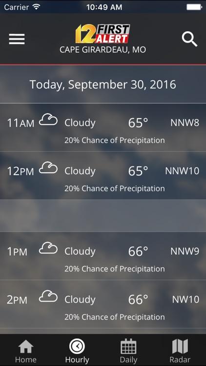 KFVS12 StormTeam Weather screenshot-4