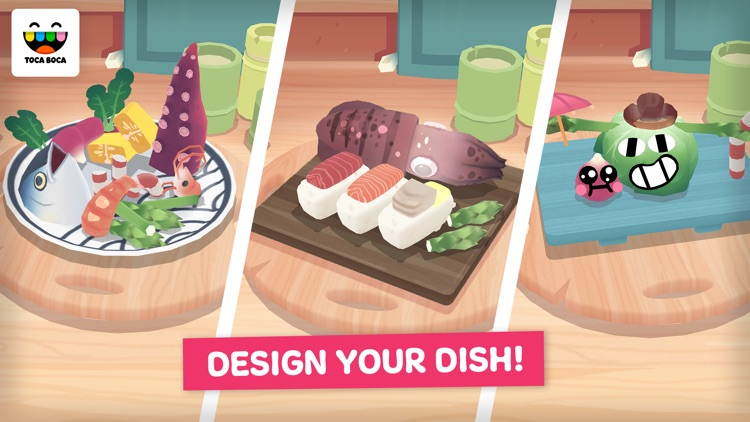 Toca Kitchen Sushi screenshot-3