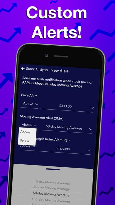 Stocks Alerter Screenshot