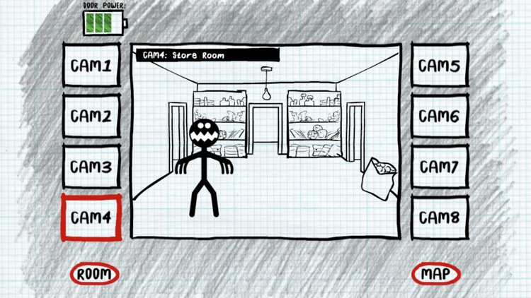 Stickman Night Shift Survival screenshot-1