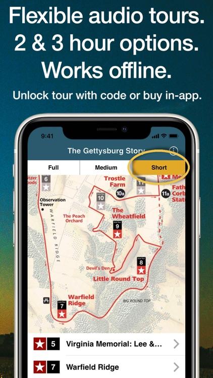 HereStory Gettysburg Auto Tour screenshot-4