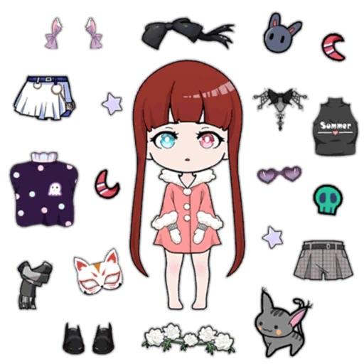 Vlinder Dolls - Dress Up Games