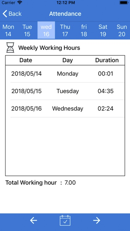 Time and Attendance screenshot-4