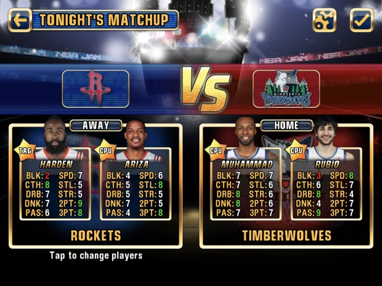 NBA JAM by EA SPORTS™ for iPadのおすすめ画像2