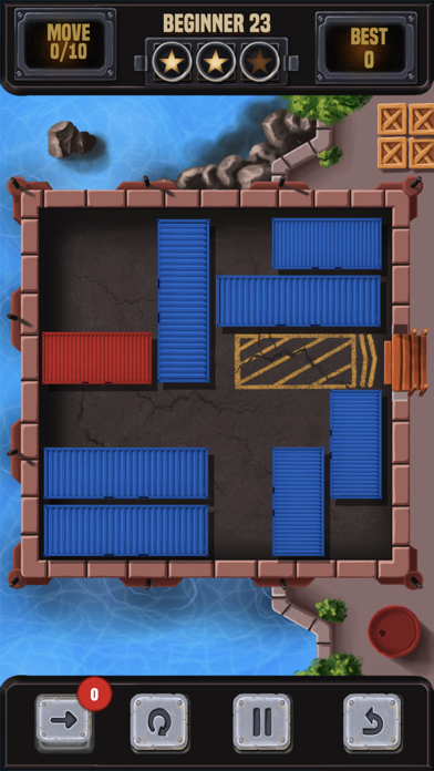 コンテナブロックパズルのブロックを解除するスクリーンショット6