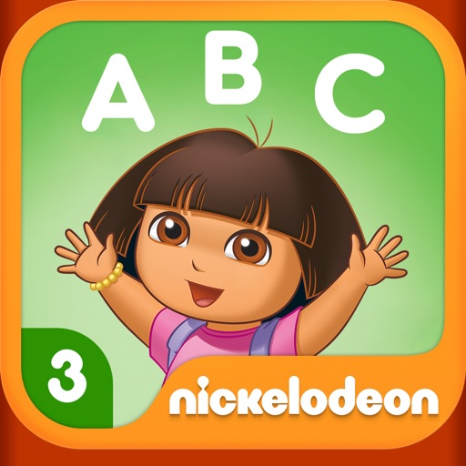 Dora ABCs Vol 3: Reading HD icon