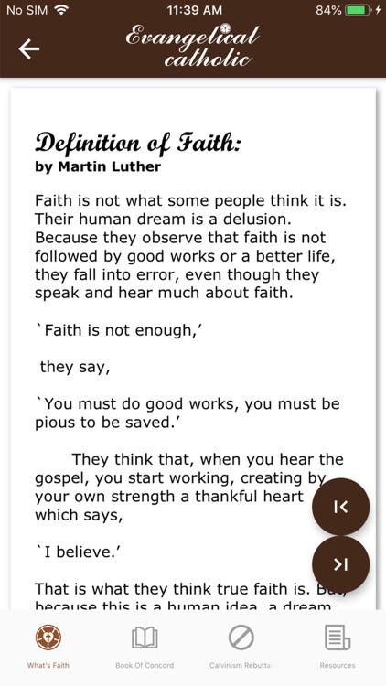 Evangelical catholic screenshot-4