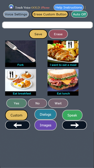 Touch Voice Gold AAC screenshot two
