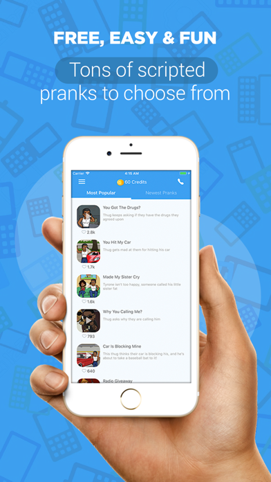 Prank Caller - Prank Call App Screenshot on iOS