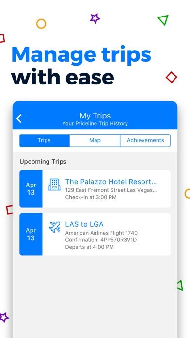Priceline Hotel Travel Deals review screenshots