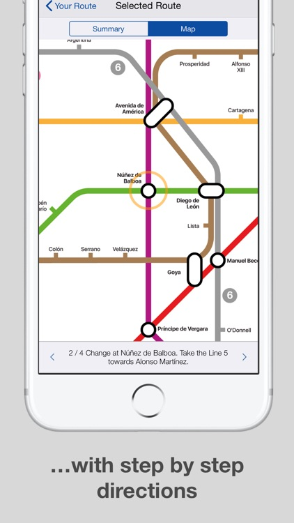 Madrid Metro Map And Routes By Mapway Limited