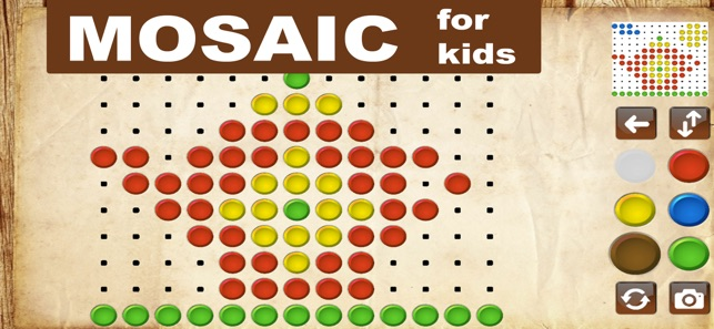 Mosaic - puzzle games for kids on the App Store