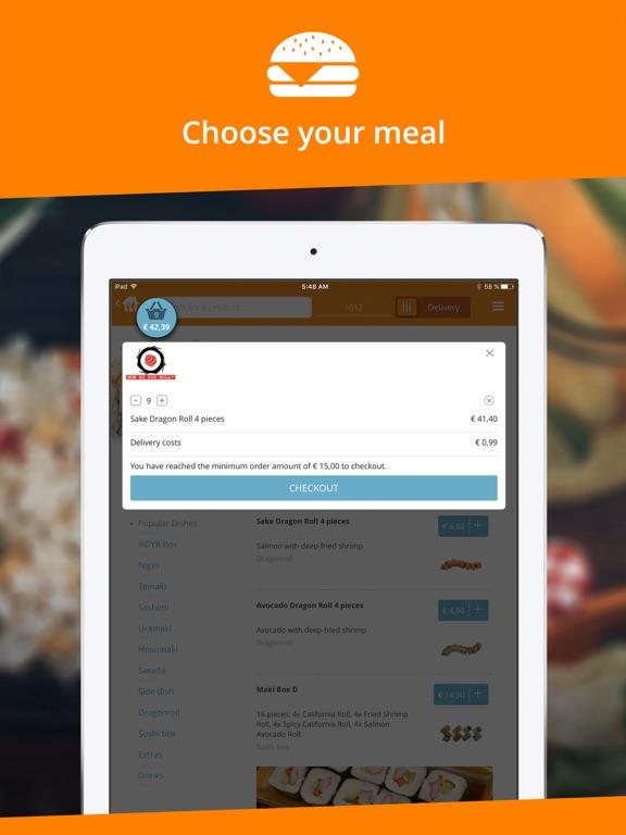 Takeaway.com Скриншоты9