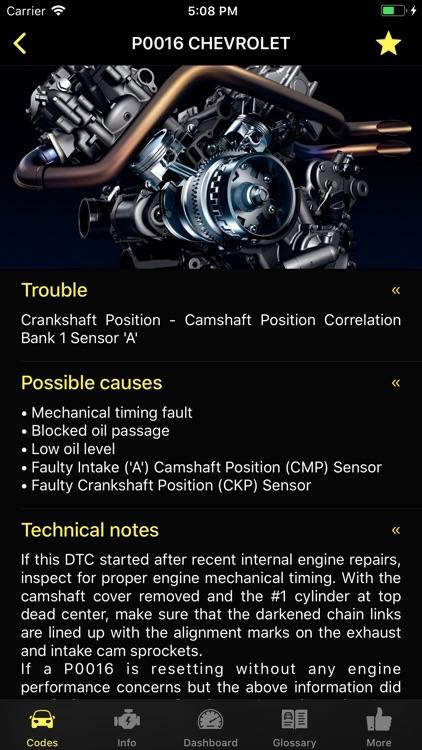 Diagnostic for Chevrolet screenshot-8