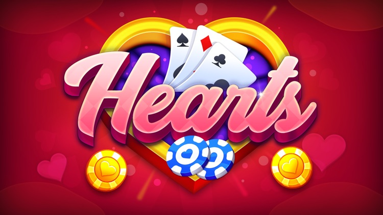 Hearts: Casino Card Game