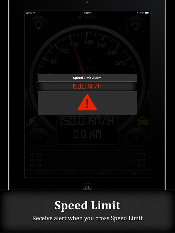 Smart GPS Speedometer PRO Screenshots