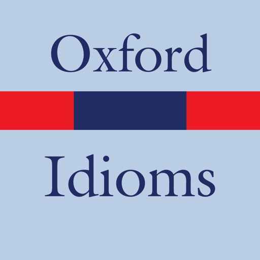 oxford english idioms ios app