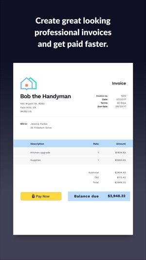 screenshots - Professional Invoice