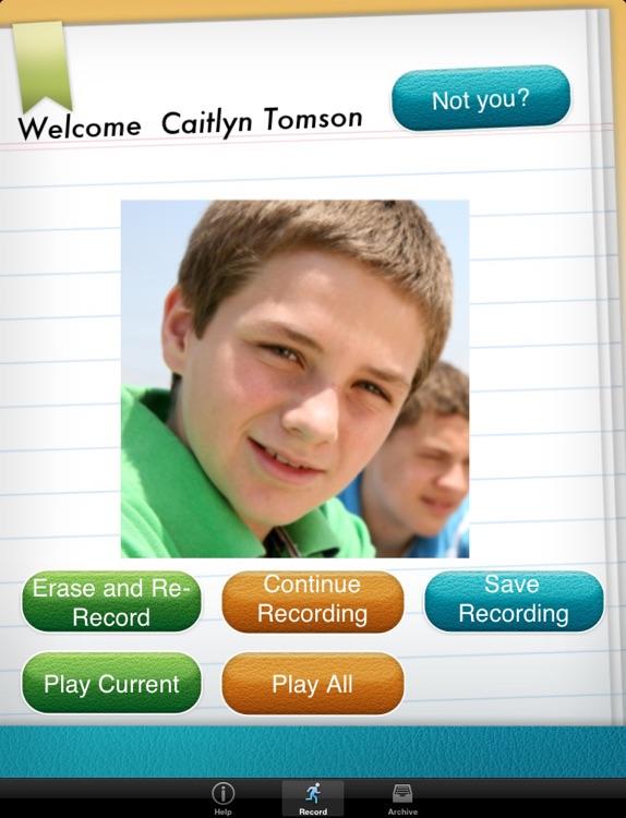 Speech Journal screenshot-3
