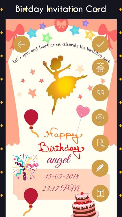 Birthday Invitation Cards Hd By Gopi Chauhan