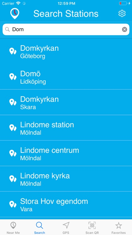 Timespot for Västtrafik screenshot-7