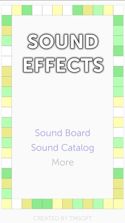 Sound Effects!