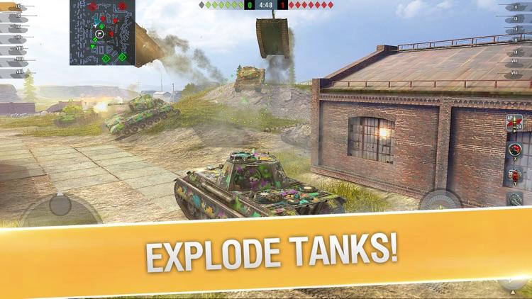 World of Tanks Blitz PVP MMO screenshot-6