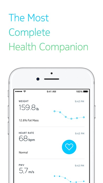 Withings Health Mate review screenshots