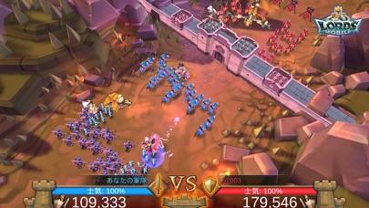 ロードモバイル:オンラインキングダム戦争&ヒーローRPGのスクリーンショット5