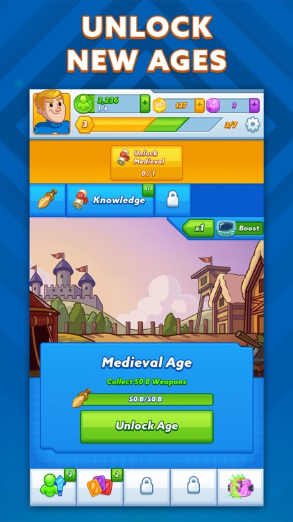 AdVenture Ages: Idle Clicker