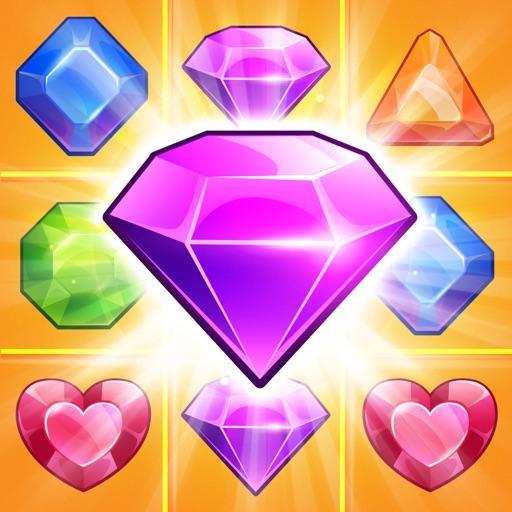 драгоценные камни алмаз. Комбинационной игры. мыльный пузырь стрелок (Gem Blaster Blitz Free)