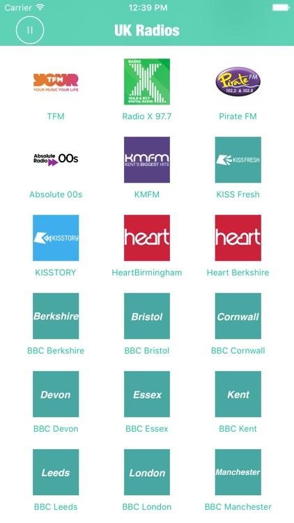 Radios UK Pro British Radio FM screenshot-3