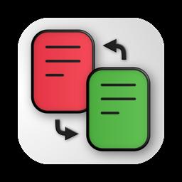 Ícone do app PDF Diff