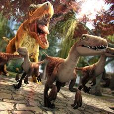 侏羅紀恐龍賽跑