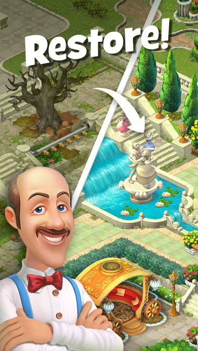 Gardenscapes iPhone