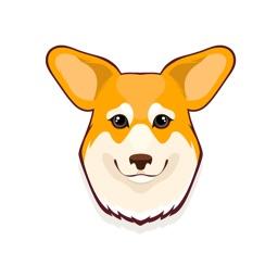 Corgi Life Emoji Stickers