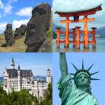 Monuments célèbres du monde pour pc