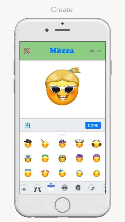 Mozza - My Custom Emoji Maker