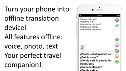 Screenshot for Offline Translator Pro 8 lang in Azerbaijan App Store
