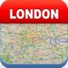 ロンドンオフライン地図 - シティメトロエアポート
