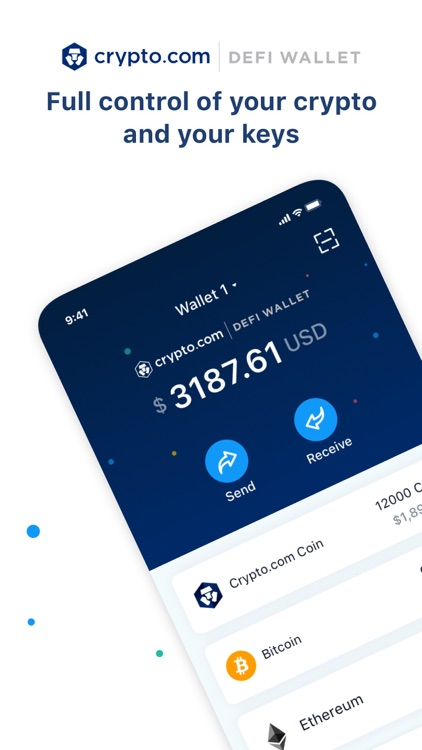 Crypto.com l DeFi Wallet screenshot-0