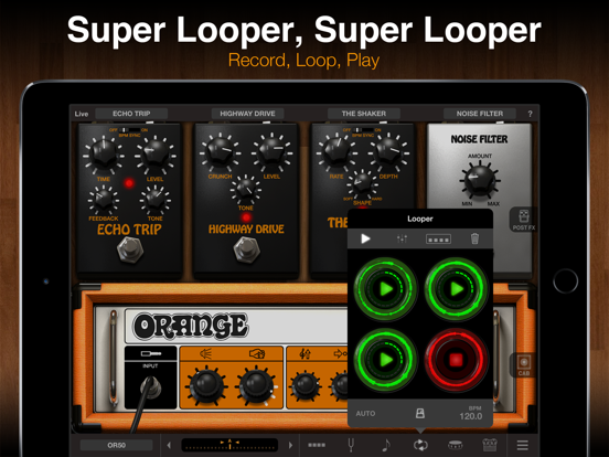 AmpliTube Orange for iPad