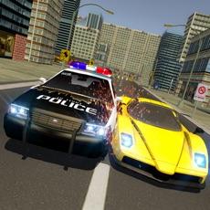 Activities of Crime Car Escape Driving